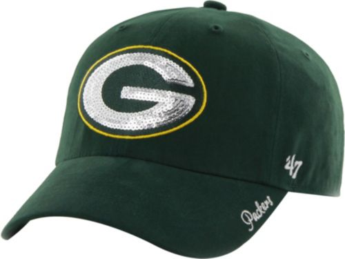 47 Women s Green Bay Packers Sparkle Adjustable Green Hat. noImageFound. 1 f0a38c105