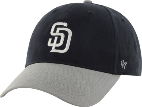 superior quality a16a3 24094  47 Youth San Diego Padres Short Stack MVP Navy Grey Adjustable Hat.  noImageFound. Previous