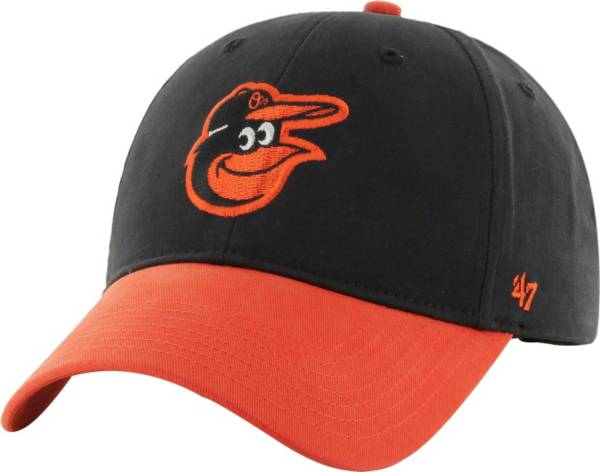 '47 Youth Baltimore Orioles Short Stack MVP Black/Orange Adjustable Hat product image