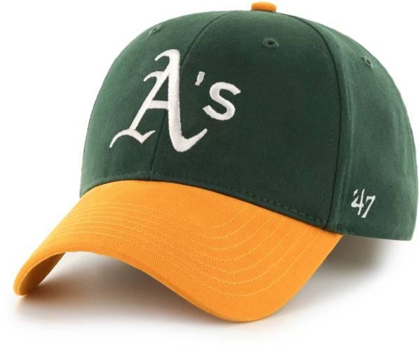 '47 Youth Oakland Athletics Basic Green/Gold Adjustable Hat product image