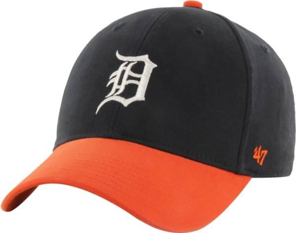 '47 Youth Detroit Tigers Short Stack MVP Navy/Orange Adjustable Hat product image