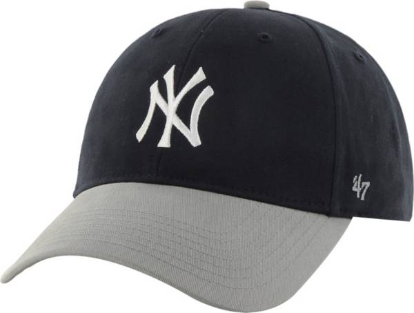 '47 Youth New York Yankees Short Stack MVP Navy/Grey Adjustable Hat product image