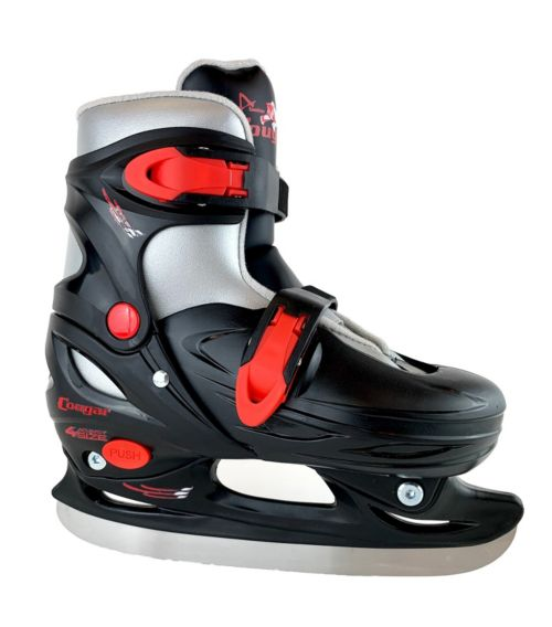 68e2c5f5d915 American Athletic Shoe Youth Cougar Adjustable Hockey Skates ...
