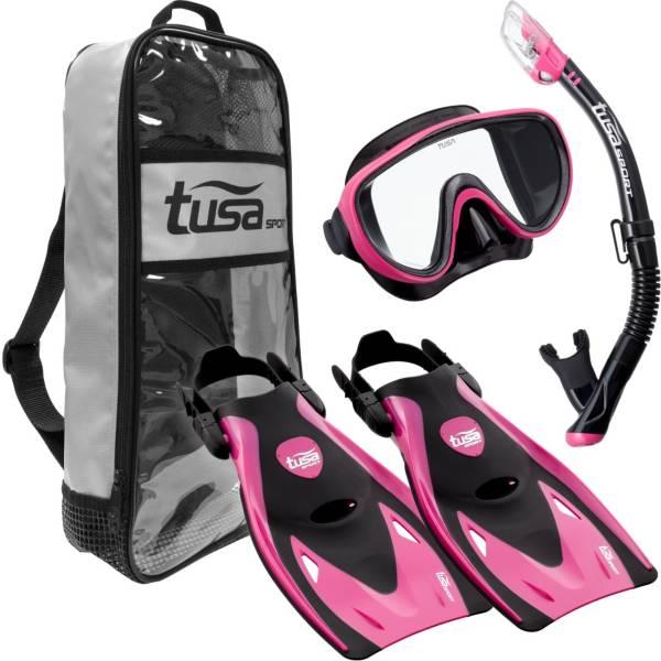 TUSA Sport Adult Serene Black Series Snorkeling Set product image