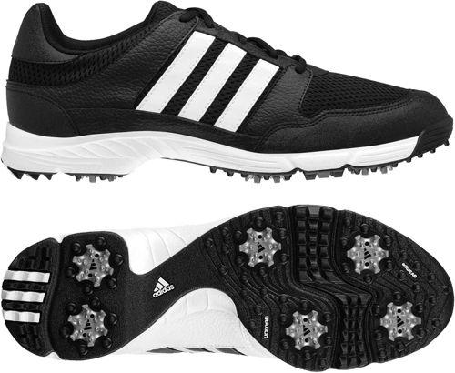 black adidas golf shoes