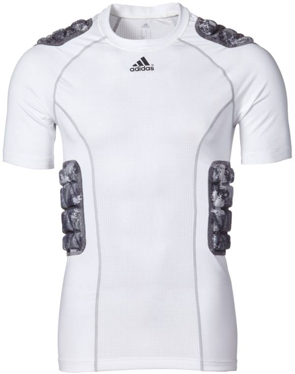 adidas Adult Padded techfit Camo Football Shirt product image