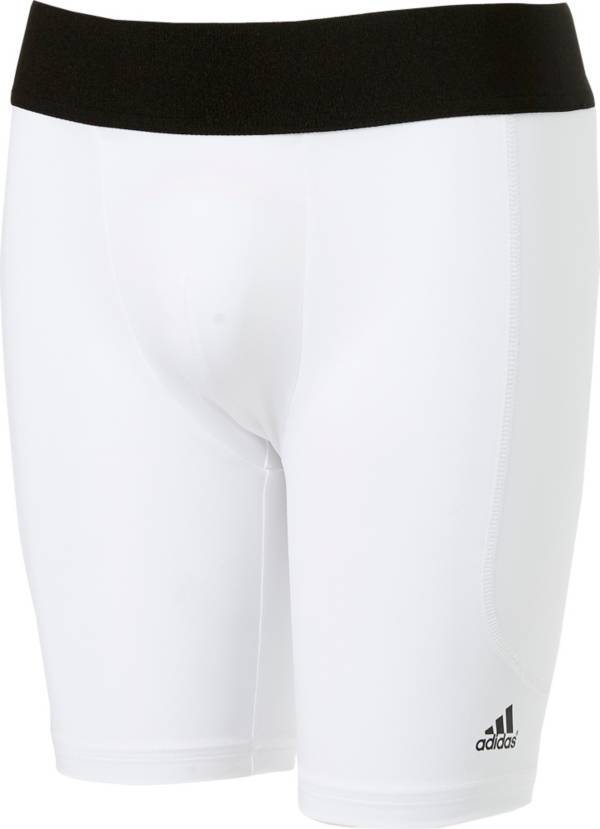 adidas Boys' Triple Stripe Sliding Shorts w/Cup product image