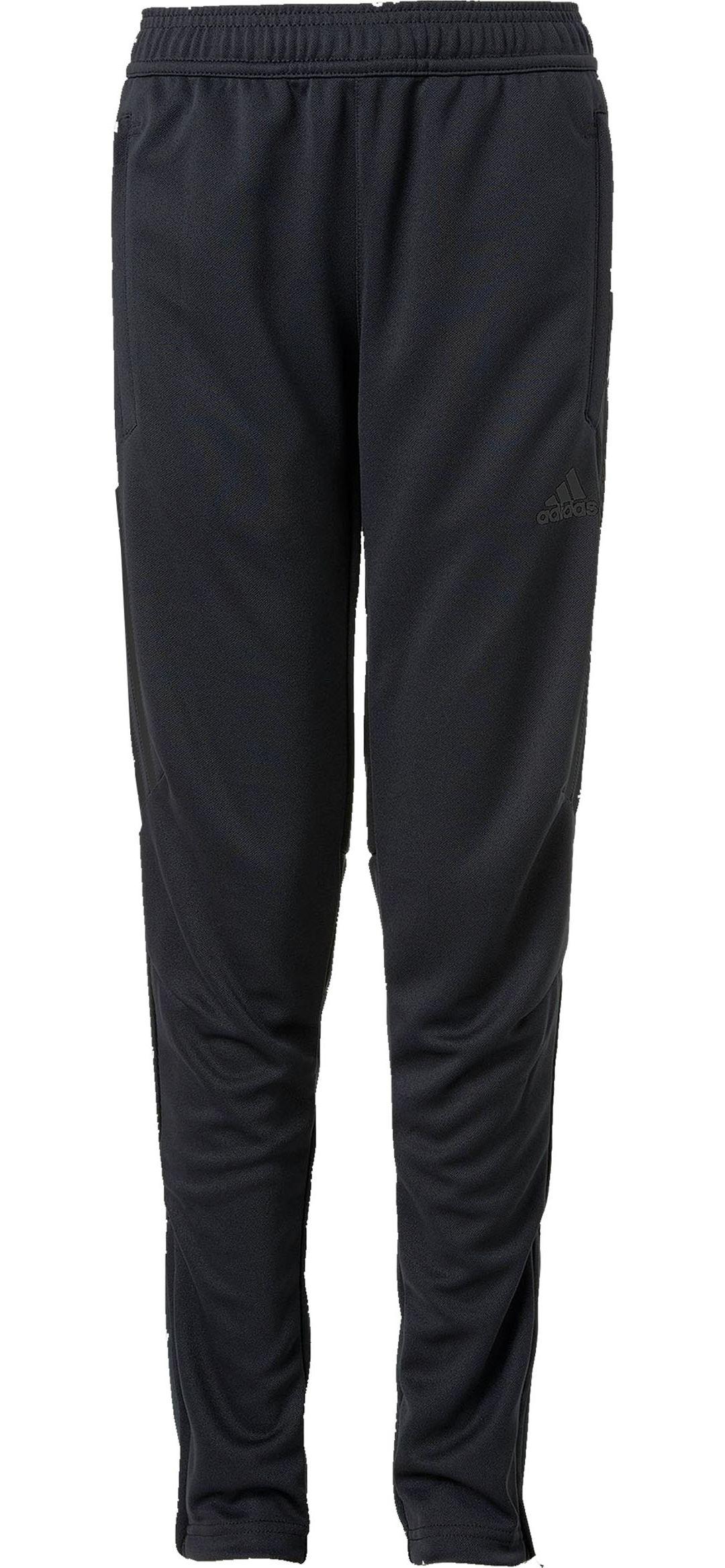 Boy's Medium Adidas Black & Gold Pants
