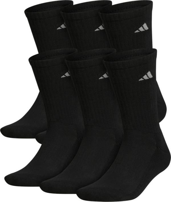 adidas Mens Athletic 6-Pack Crew Socks