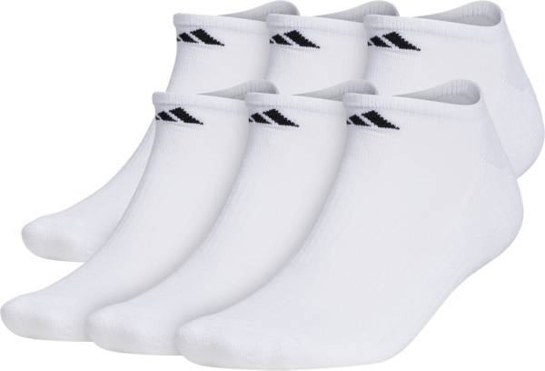 adidas Men's Athletic Cushioned No Show Socks - 6 Pack product image