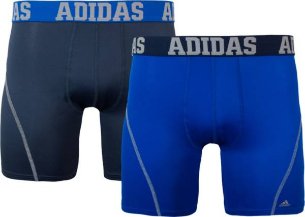 adidas Men's Sport Performance climacool Solid 5'' Boxer Briefs 2 Pack product image