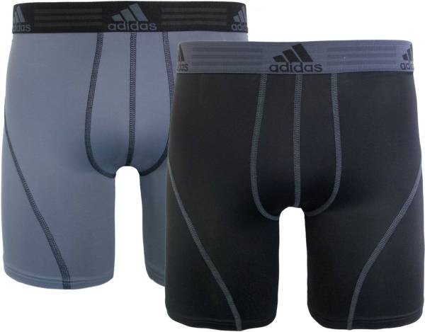 adidas Men's climalite 9'' Boxer Briefs 2 Pack product image