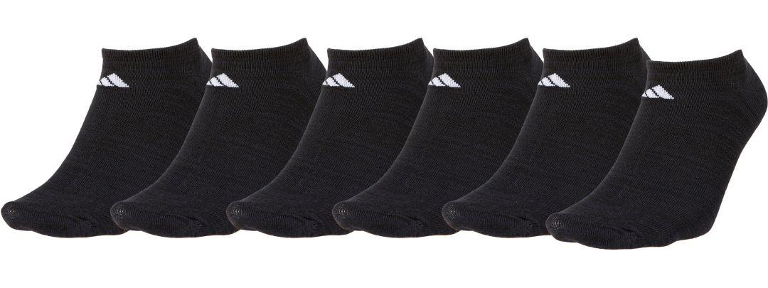 a38ce42d7f23 adidas Men's Superlite No Show Socks 6 Pack