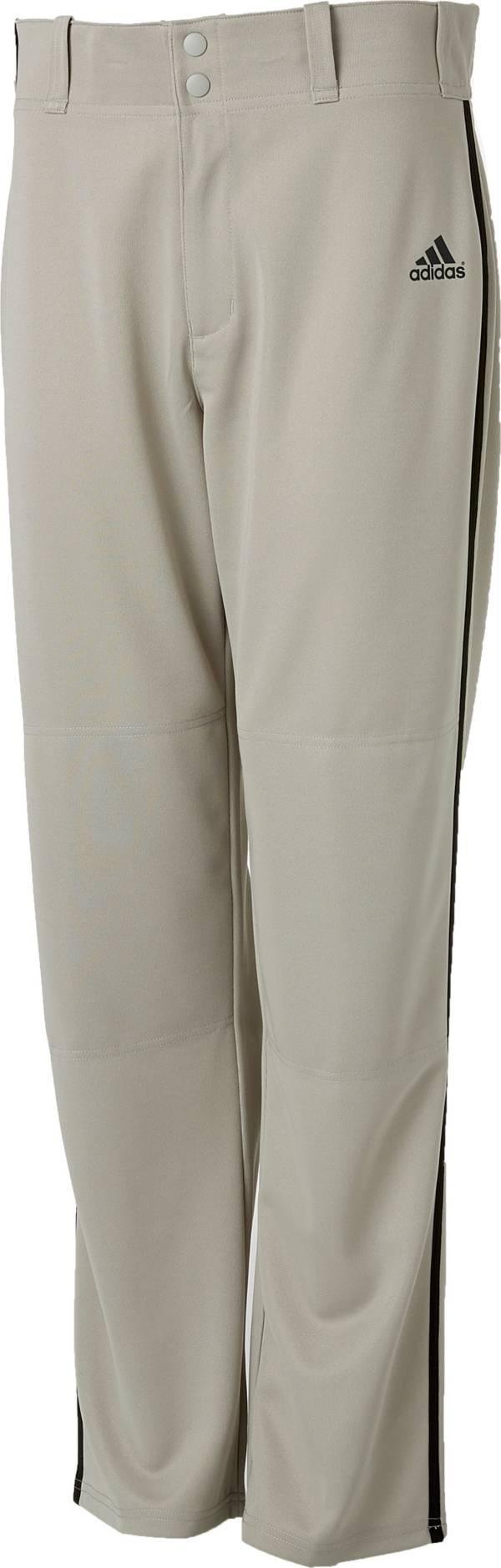 adidas Men's Triple Stripe Open Bottom Piped Baseball Pants product image