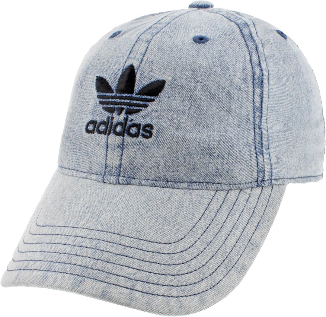 adidas Originals Women's Relaxed Denim Cap