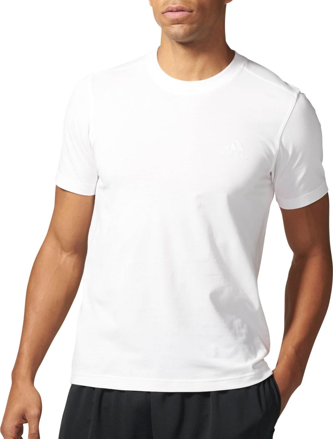 66d4354296 adidas Men's Essentials Droptail 3-Stripes T-Shirt | DICK'S Sporting ...