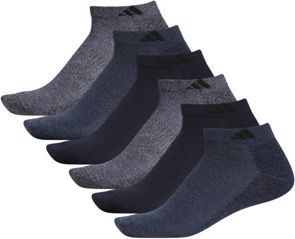 adidas Men's Athletic Cushioned Low Cut Socks- 6 Pack product image