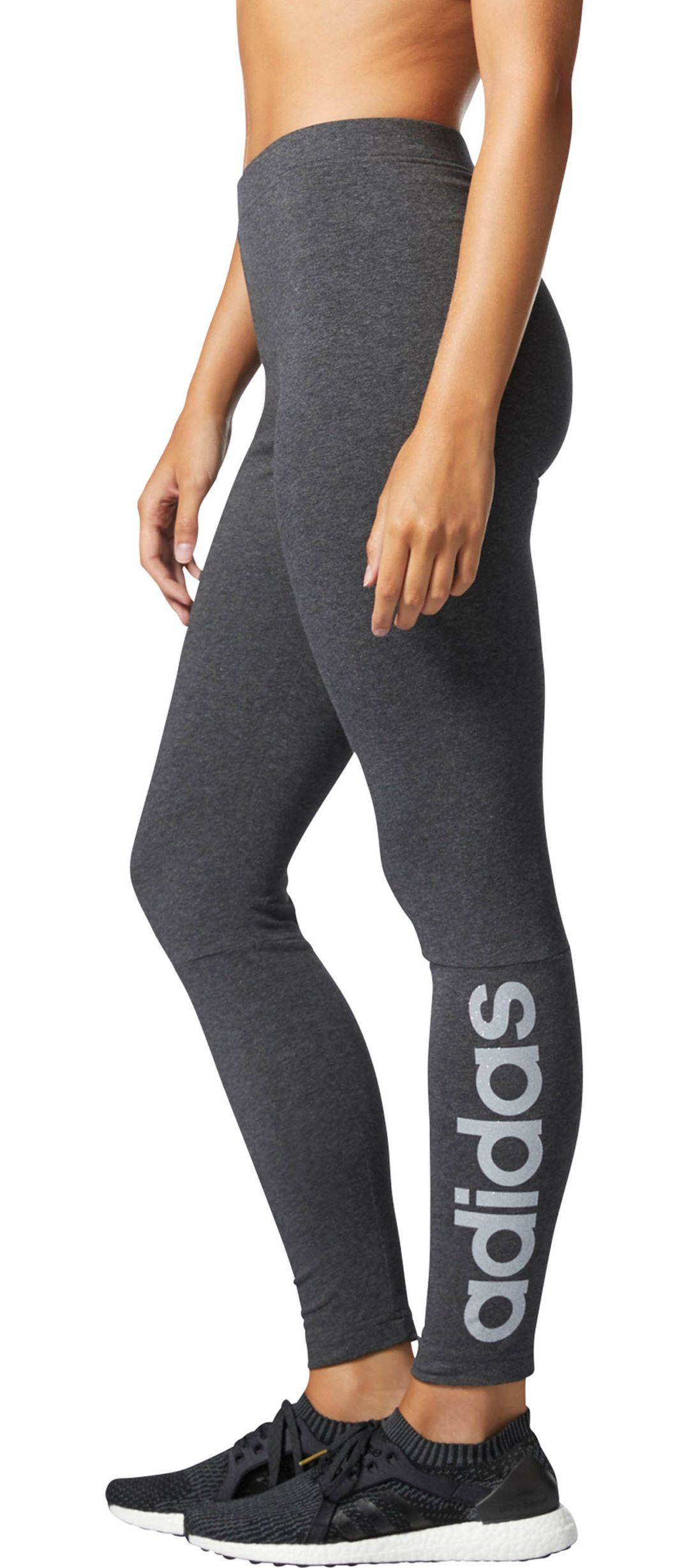 4695408566e27 adidas Women's Essentials Linear Tights   DICK'S Sporting Goods