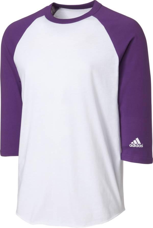 adidas Youth Triple Stripe ¾ Sleeve Baseball Practice Shirt product image