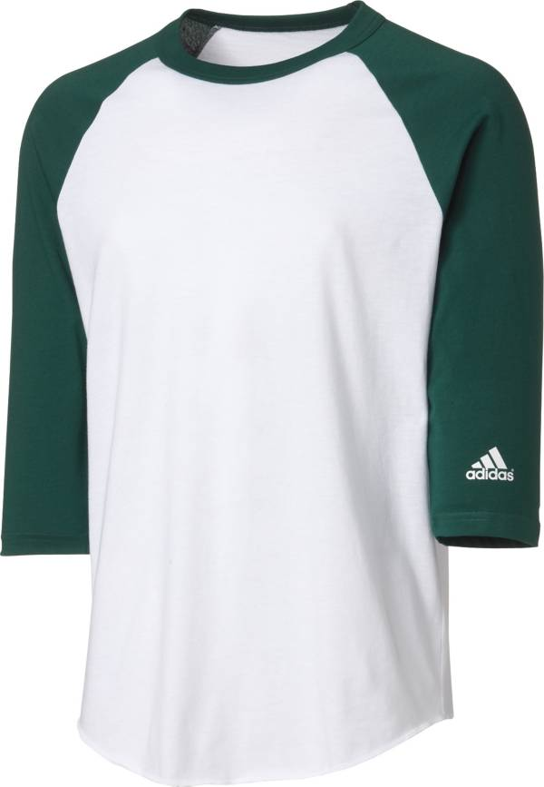 adidas Youth Triple Stripe ¾ Sleeve Baseball Practice Shirt product image