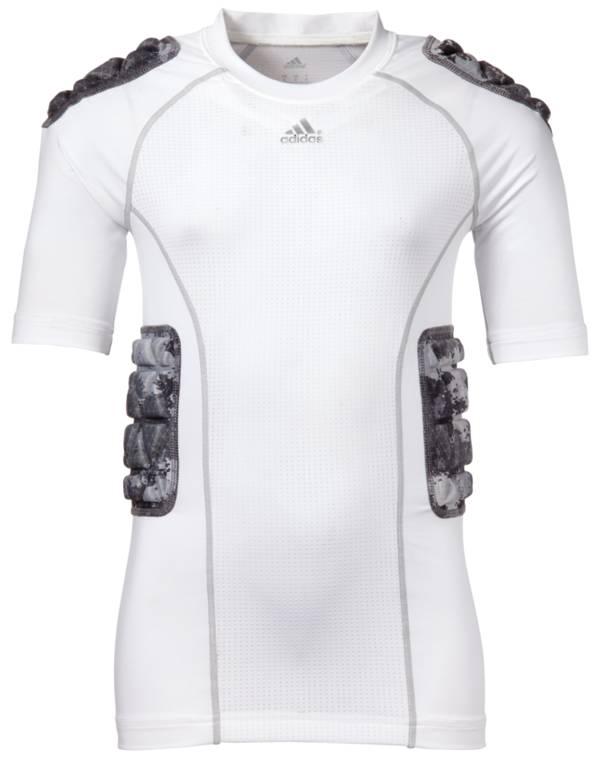 adidas Youth Padded techfit Camo Football Shirt