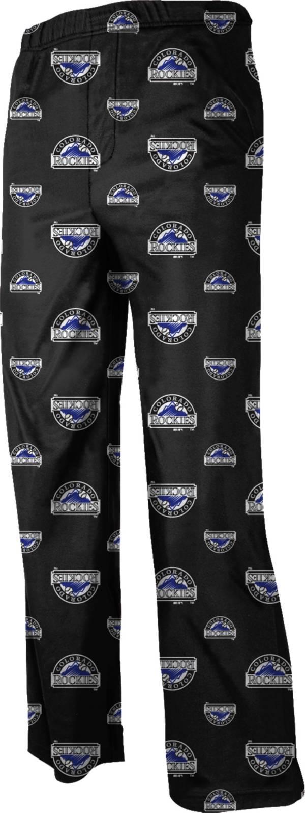 Majestic Youth Colorado Rockies Team Logo Pajama Pants product image
