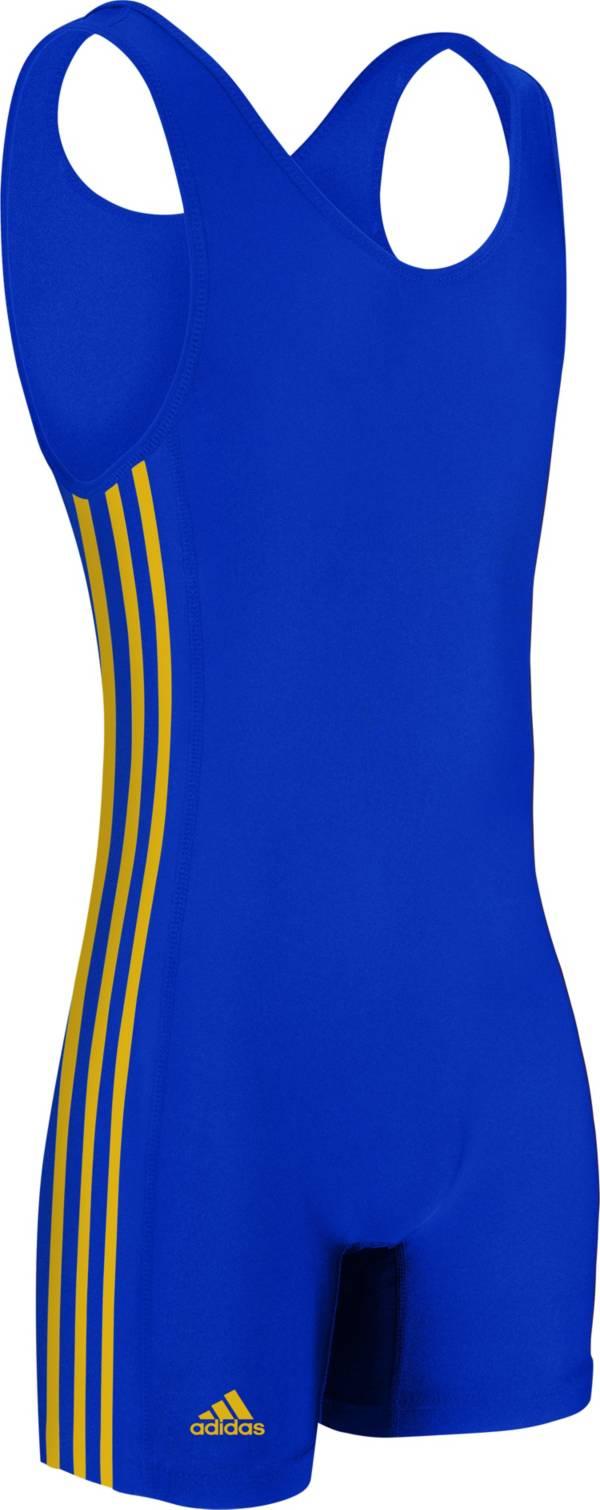adidas Youth 3-Stripe Wrestling Singlet product image