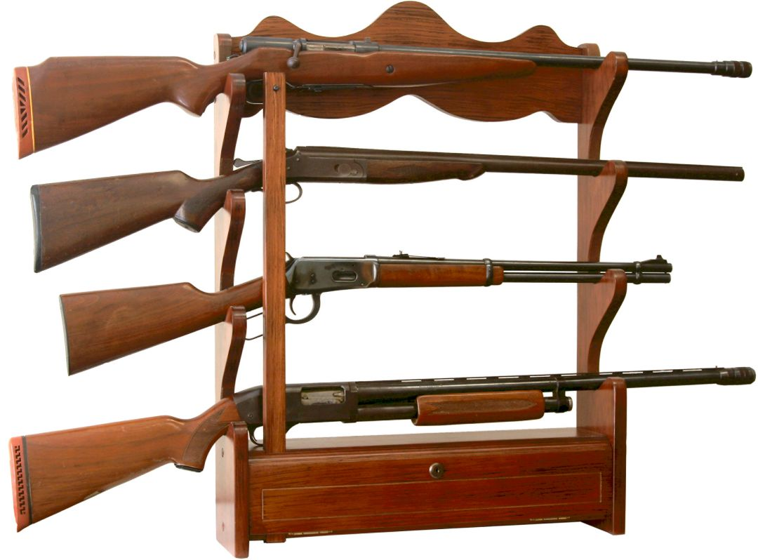American Furniture Classics 4 Gun Wall Rack Dicks Sporting Goods