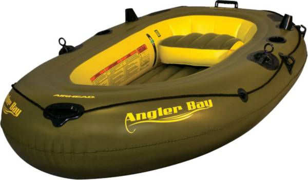 Airhead Angler Bay 3 Person Inflatable Fishing Boat product image