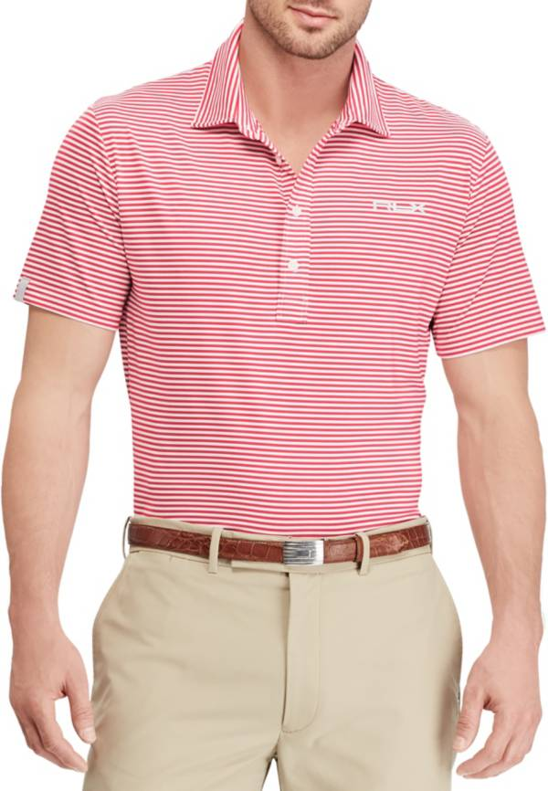 RLX Golf Men's Short Sleeve Striped Airflow Performance Golf Polo product image