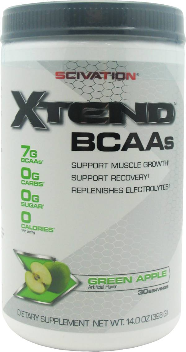 Scivation XTend BCAAs Green Apple 30 Servings product image