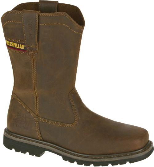 68607352df8 CAT Men's Wellston Steel Toe EH Work Boots   DICK'S Sporting Goods