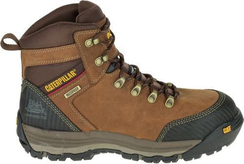 13012ce9ee3 CAT Men's Munising 6'' Waterproof Composite Toe Work Boots   DICK'S ...