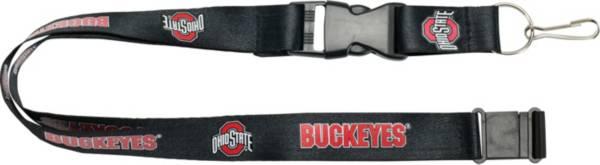 Ohio State Buckeyes Black Lanyard product image