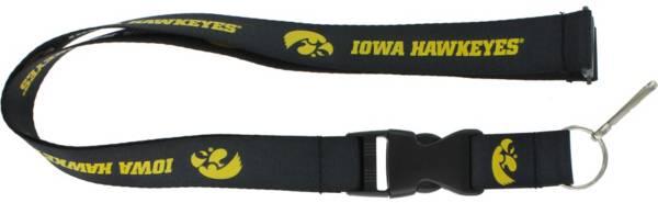 Iowa Hawkeyes Black Lanyard product image