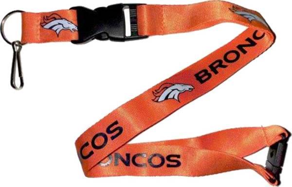 Denver Broncos Orange Lanyard product image