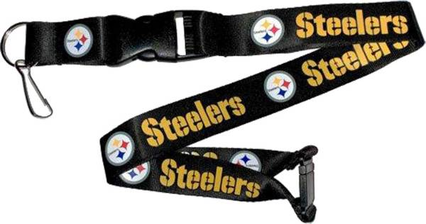 Aminco Pittsburgh Steelers Black Lanyard product image