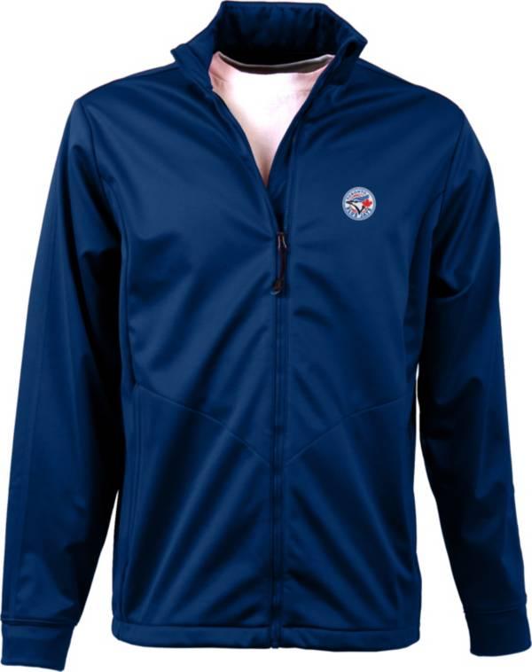 Antigua Men's Toronto Blue Jays Full-Zip Royal Golf Jacket product image