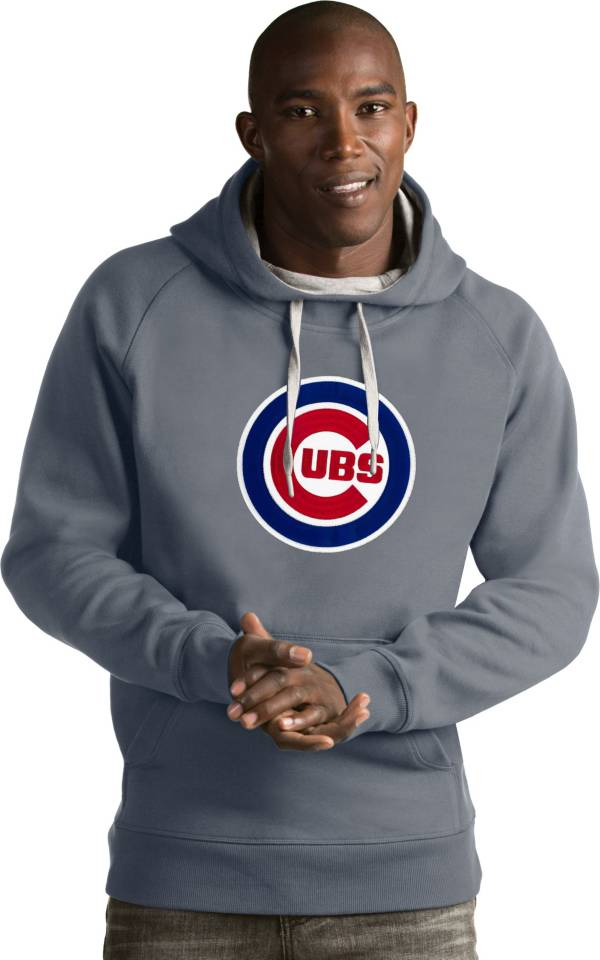 Antigua Men's Chicago Cubs Grey Victory Pullover product image