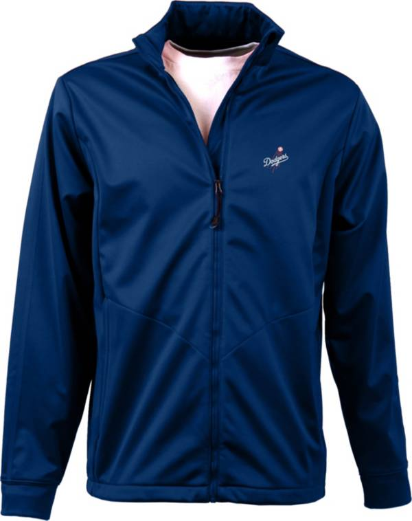 Antigua Men's Los Angeles Dodgers Full-Zip Royal Golf Jacket product image