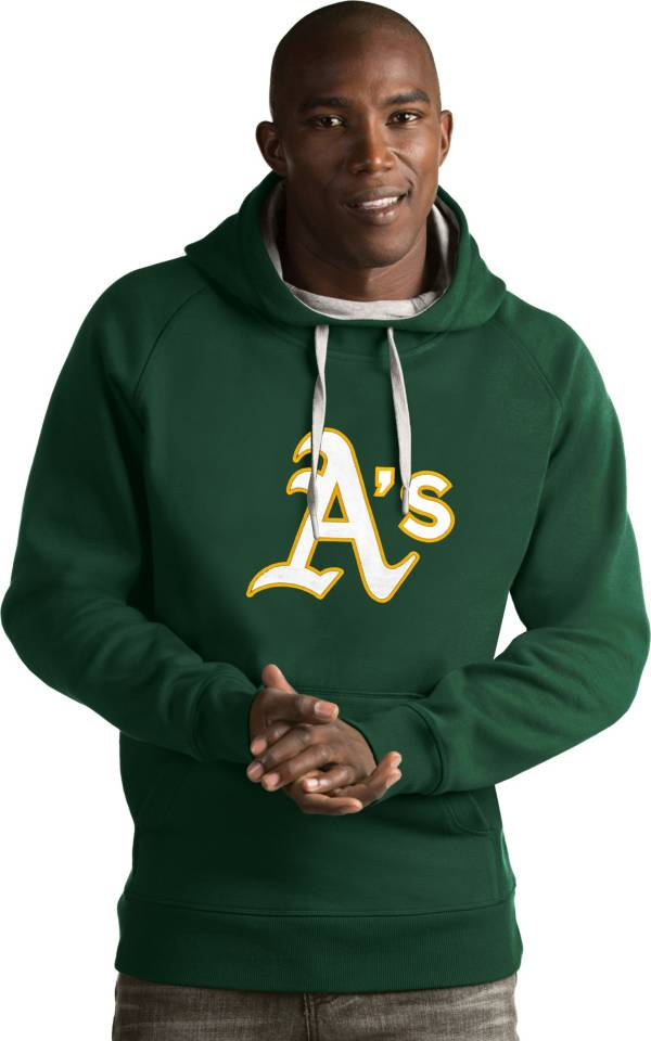 Antigua Men's Oakland Athletics Green Victory Pullover product image