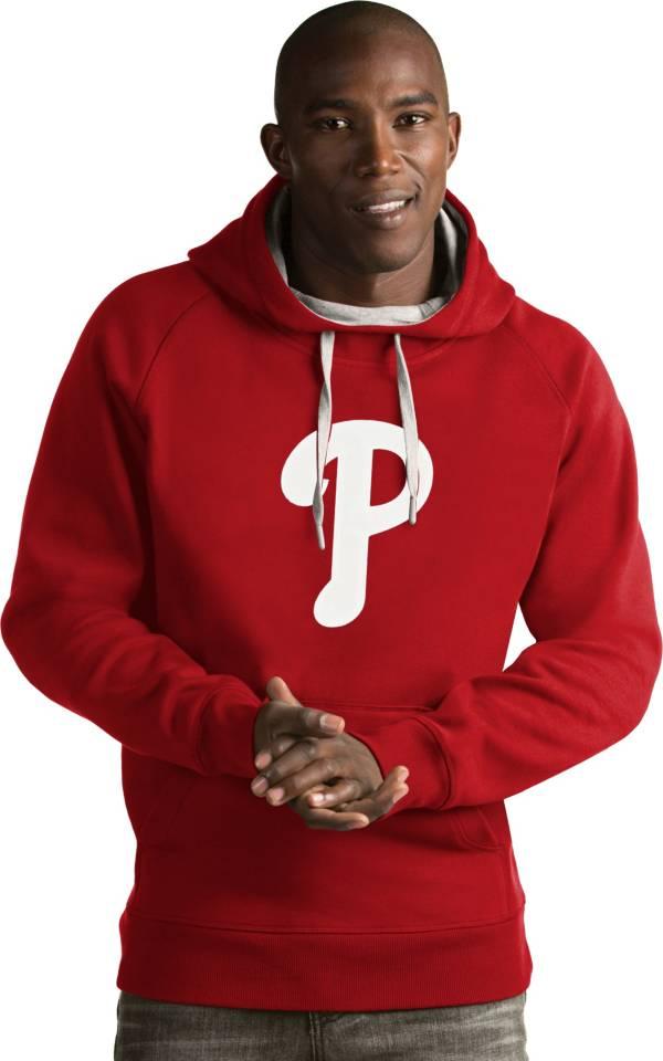Antigua Men's Philadelphia Phillies Red Victory Pullover product image