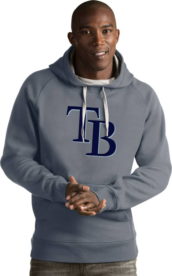 Antigua Men's Tampa Bay Rays Grey Victory Pullover product image