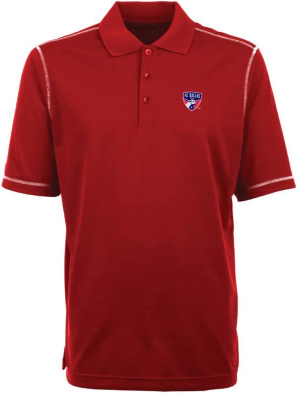 Antigua Men's FC Dallas Icon Red Polo product image
