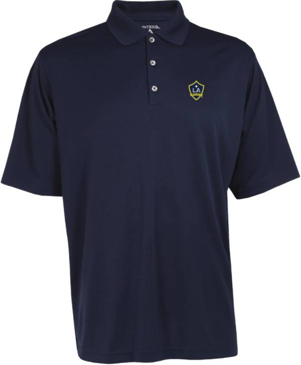 Antigua Men's Los Angeles Galaxy Exceed Navy Polo product image