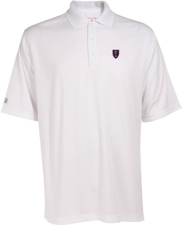 Antigua Men's Real Salt Lake Exceed White Polo product image