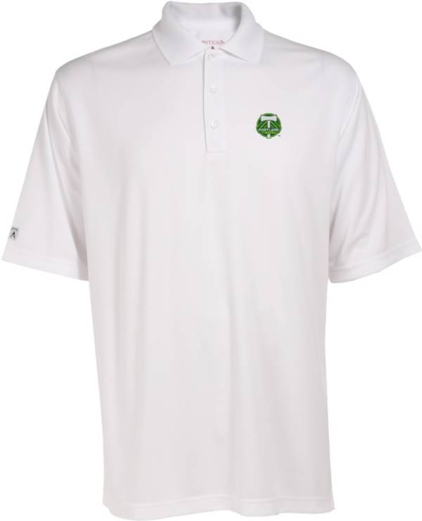 Antigua Men's Portland Timbers Exceed White Polo product image