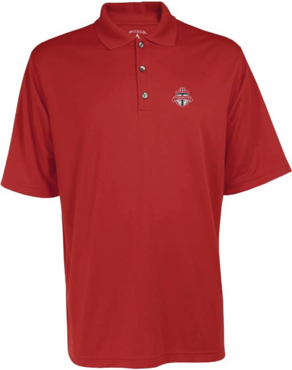 Antigua Men's Toronto FC Exceed Red Polo product image