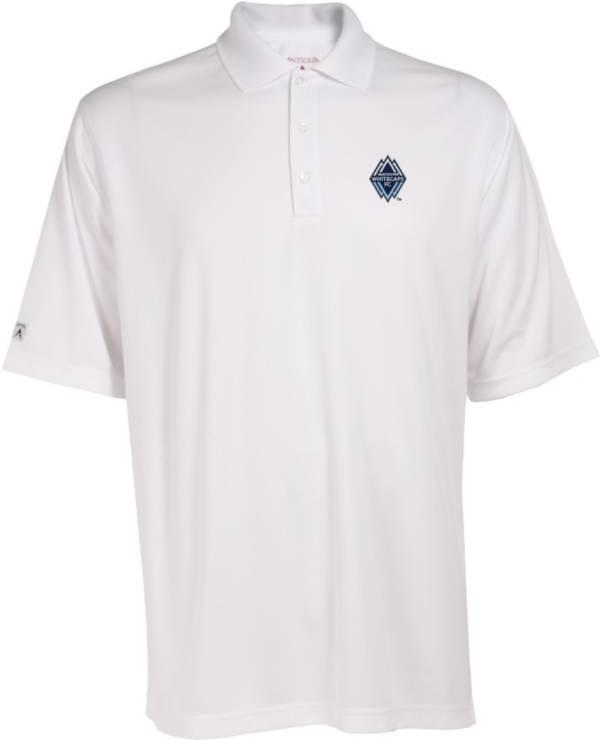 Antigua Men's Vancouver Whitecaps Exceed White Polo product image