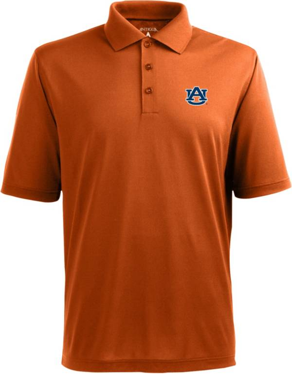 Antigua Men's Auburn Tigers Orange Xtra-Lite Polo product image